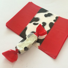 Red Diy Handmade Nougat Packaging Paper Greaseproof Paper For Milk Candy/Taffy, Wholesale 500pcs/lot(China (Mainland))