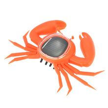 New Mini Solar Powered Cute Crab Solar Toy Eco-friendly Kids Children Educational Toy Best Gift Intelligence Development(China (Mainland))