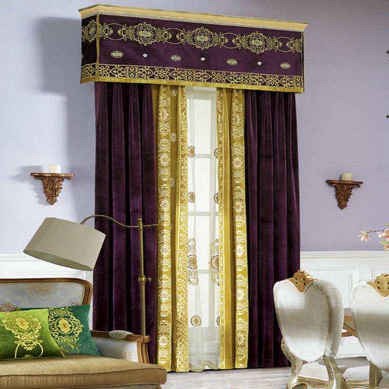 Verde amarillo cortinas de alta calidad compra lotes - Cortinas azul marino ...
