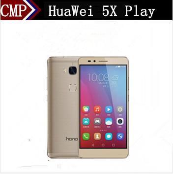 "Original HuaWei Honor 5X Play 4G LTE Mobile Phone MSM8939 Android 5.1 5.5"" FHD 1920X1080 3GB RAM 16GB ROM 13.0MP Fingerprint(China (Mainland))"