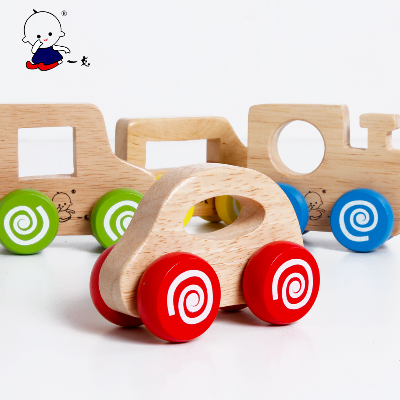 baby toy wooden toy push car toy 1 3 years old baby indiecasts toy vehicles from toys. Black Bedroom Furniture Sets. Home Design Ideas