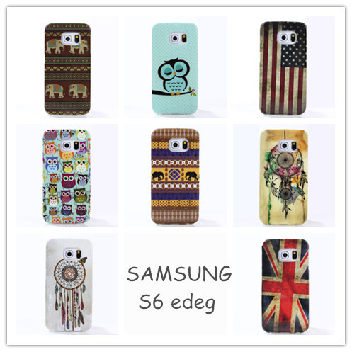 New hot Dirt-resistant soft cell phone case for SAMSUNG GALAXY S6 edeg protective cover s6 edeg caseschirstmas gift RSM15071502(China (Mainland))
