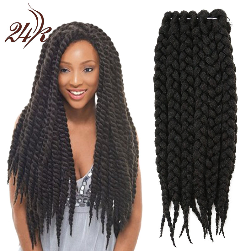 Crochet Hair Extensions : Havana-Mambo-Twist-Crochet-Braid-Hair-12-Inch-Crochet-Hair-Extensions ...