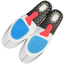 1 Pair Unisex Orthotic Arch Support Shoe Pad Sport Climbing Running Gel Insoles Insert Cushion Cutting(China (Mainland))