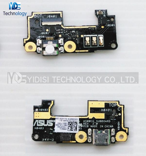 10pcs/lot Original NEW For ASUS Zenfone 5 A500CG T00J T00F Charger Port Micro USB Dock Connector Flex Cable Ribbon Repair Parts