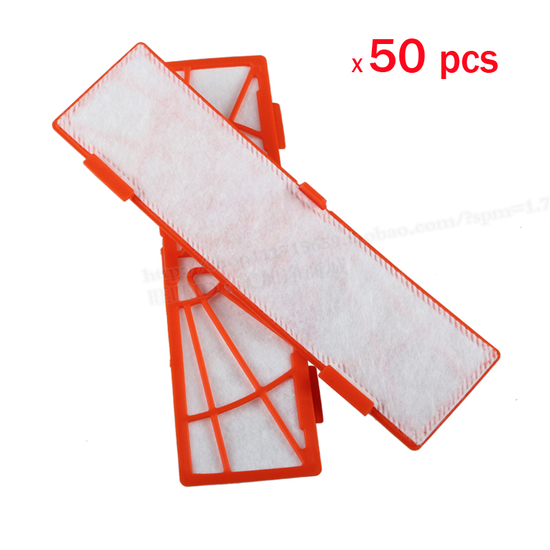 Гаджет  50 pcs/lot Replacement filter for neato botvac 85 70 70e 80 series Vacuum Cleaners neato botvac Filter Parts Accessaries None Бытовая техника