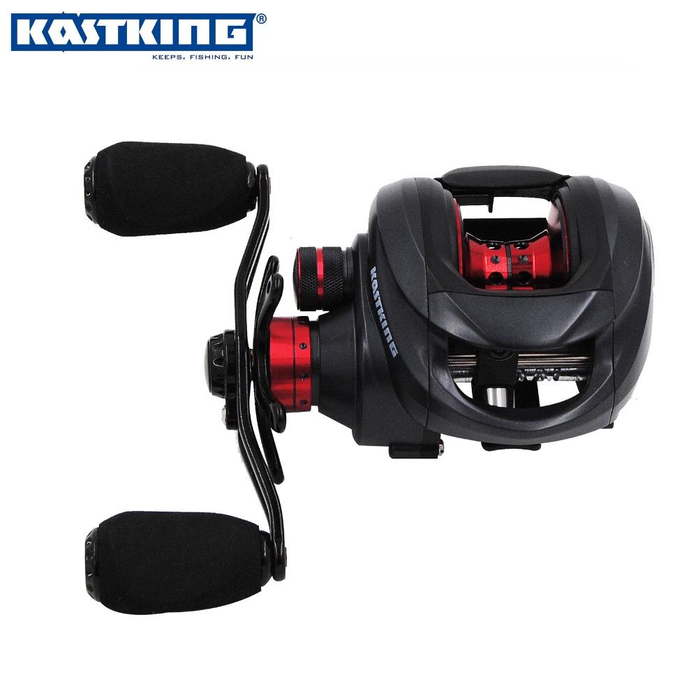 KastKing Brand 2016 New Stronger Lighter Faster Fishing Reel 12 BBs Right Left Baitcasting Reel for Saltwater Fishing
