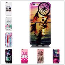 For iPhone6 Plus 6s Plus 5.5″ case TPU Soft TPU Dreamy scenery owl flowers Case 3d full cover printing cell phone cases