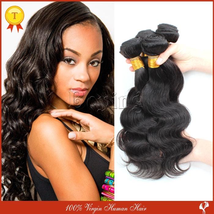 Brazilian Virgin Hair Gaga Hair Unprocessed  Body Wave Human Hair Weave Brazilian Hair Body Wave Bundles 3Pcs Lot Free Shipping<br><br>Aliexpress