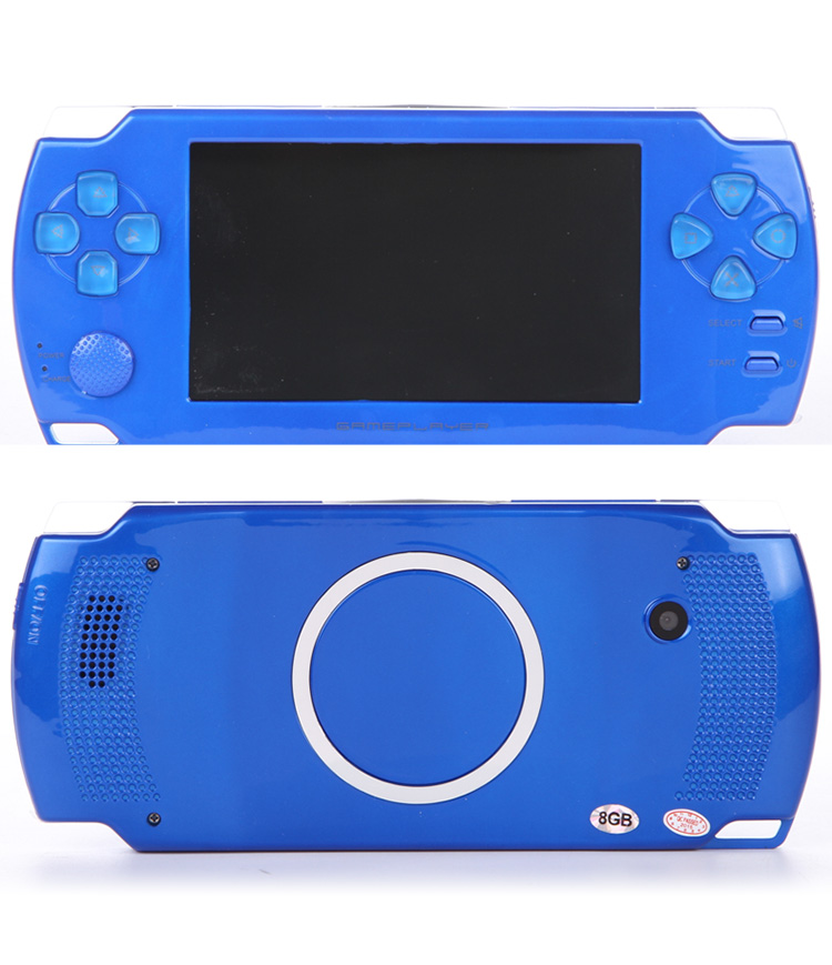 Original 8GB 4.3 inch LCD Screen MP3 MP4 Player Game Console Handheld Game machine With TV Camera Vedio Game Consoles Ultra-thin