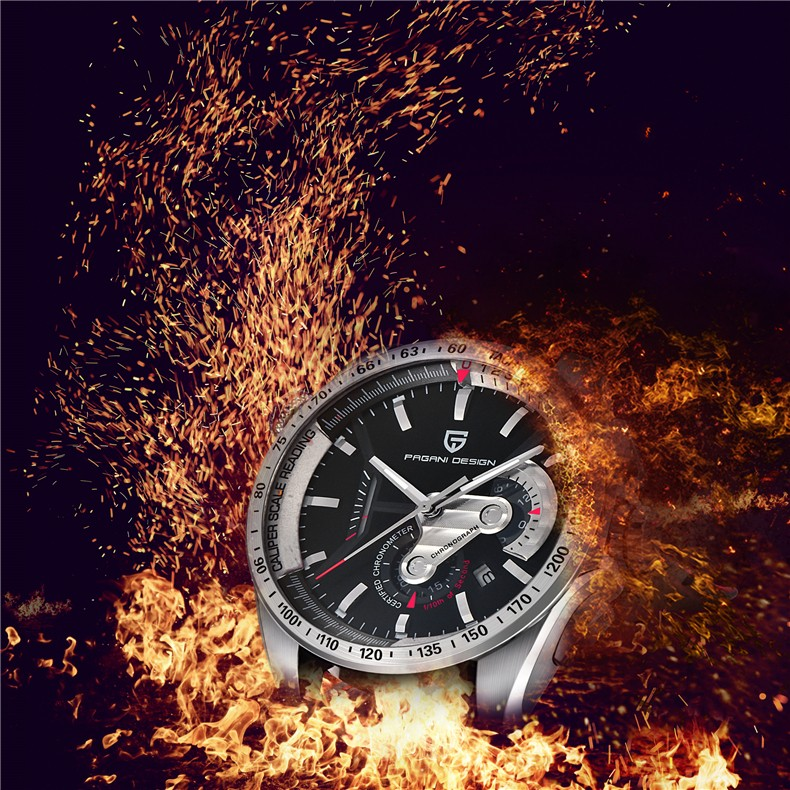 2016 Pagani Дизайн Luxury brand Кварцевые Часы Мужчины Спорт Утилита Водонепроницаемый Нержавеющей Стали Наручные Часы relogio masculino