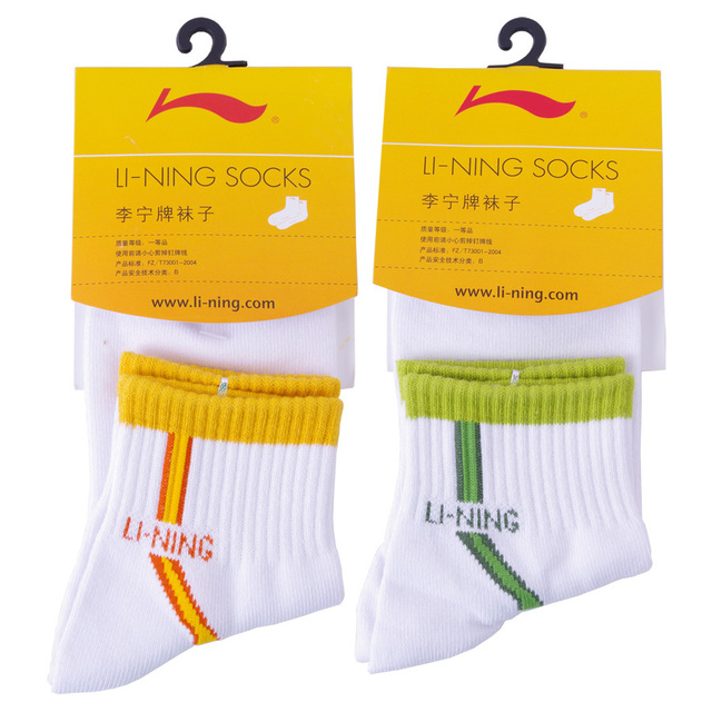 Lining badminton socks sports socks 3wsa825 socks