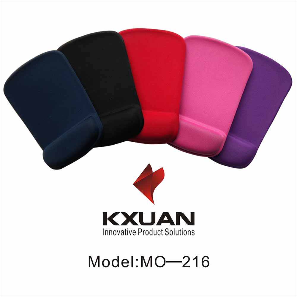 Real Brand Silica Gel Mouse Pad with Wrist Rest Mat Large- 7 Different Colors -MO216 Customize Negaotiable(China (Mainland))