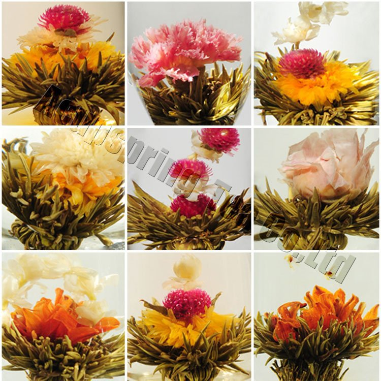Individual Vacuum package 20 kinds Blooming tea Artistic Blossom Flower Tea A3CK13 Free Shipping