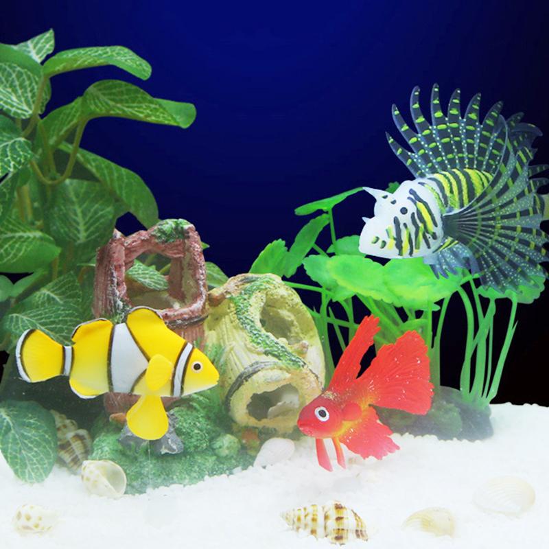 D coration r servoir de poissons rouges promotion achetez for Decoration pour aquarium poisson rouge