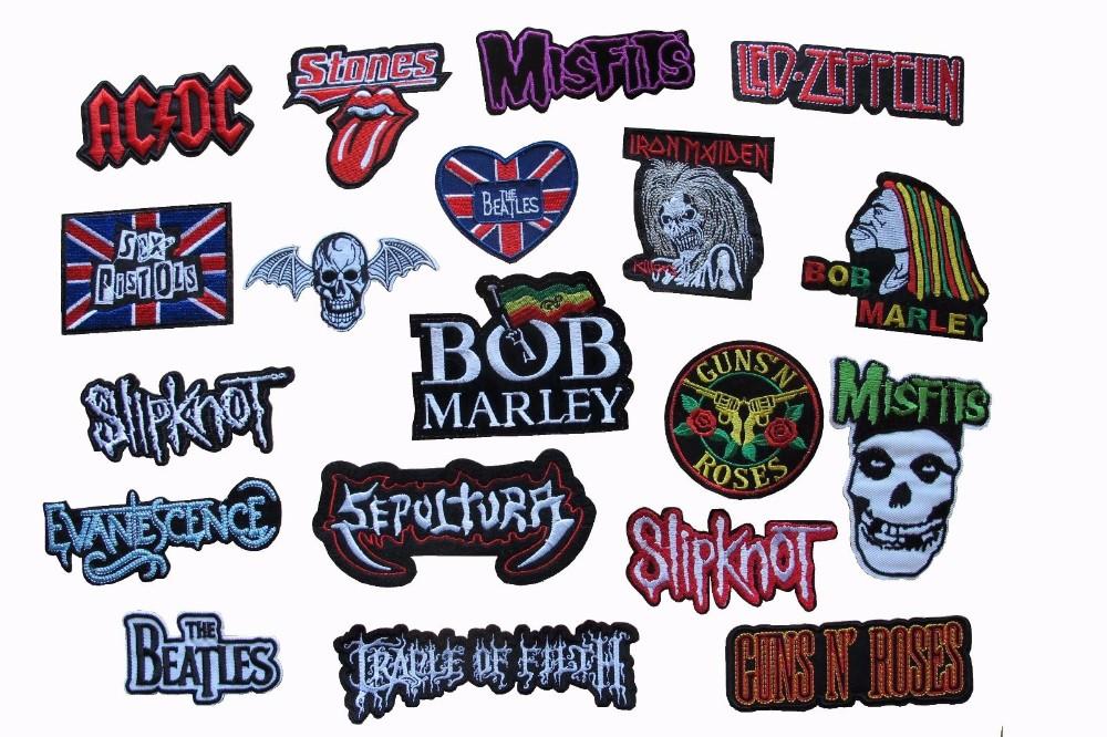Punk rock band logo