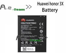 Huawei honor 3X акб HB476387RBC новый оригинальный 3000 мАч высокой емкости аккумулятора Huawei G750 B199 — в наличии бесплатная доставка