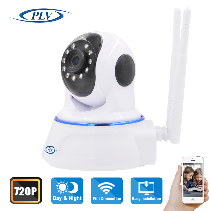 PLV-NC619RW 720P Wireless Wifi IP Camera Night Vision Camera IP Baby Moniter CCTV WIFI P2P Onvif IP Camera Support TF Card(China (Mainland))