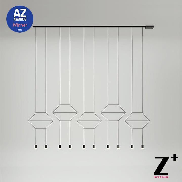 Replica item 2015 AZ Award Winner Led lights lamp designer modern chandelier wie line Ten lights wireflow FREE SHIPPING(China (Mainland))