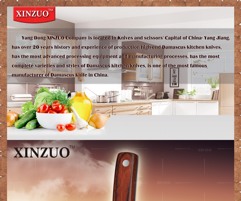 """Buy XINZUO 3.5"""" inches fruit knife Damascus kitchen knives surper sharp paring kitchen knife utility knife wood handle FREE SHIPPING cheap"""