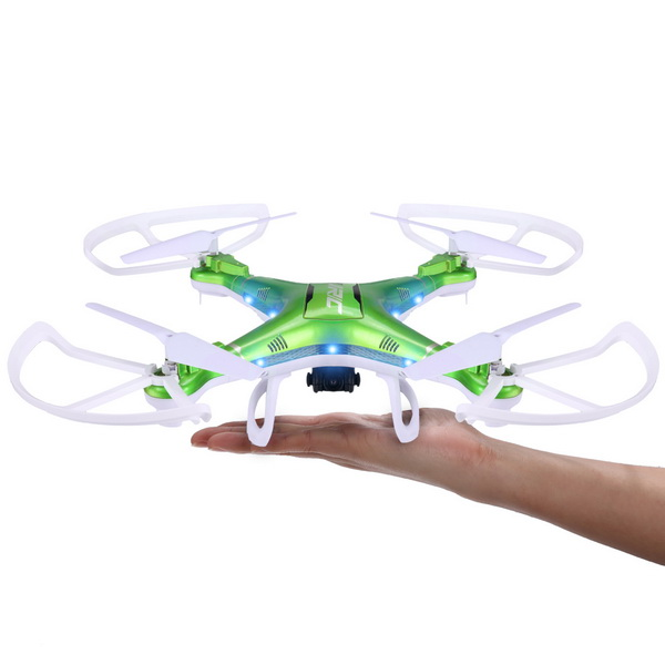 JJRC H5P FPV RC Quadcopter Drone 4 CH 6 Axis Gyro 2.4GHz Helicopter with 2.0MP HD Camera CF Mode 3D Eversion LED Light RTF BD(China (Mainland))