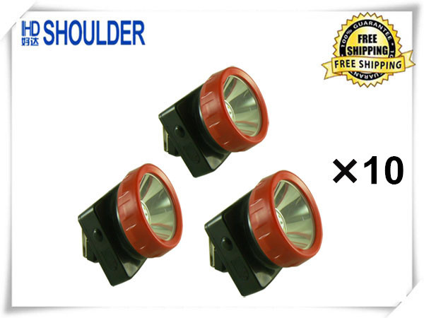 30pcs/lot new henda ld-4625 Wireless LED Mining Light Miners Lamp, Hunting, Camping, Fishing headlamps free shipping(China (Mainland))