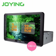 Joying 8 inch Android 5.1 AutoRadio Stereo Single 1 din Quad Core Universal Car Media Player HD Capacitive 2GB+32GB Head Unit(China (Mainland))