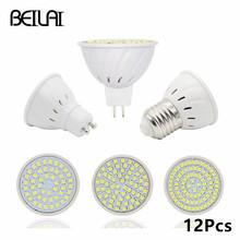 Buy 12Pcs/lot SMD 2835 GU10 Lampada De LED Lamp 220V MR16 Ampoule LED Spotlight Lights Bombillas LED Bulbs Home Chandelier Luz for $14.49 in AliExpress store
