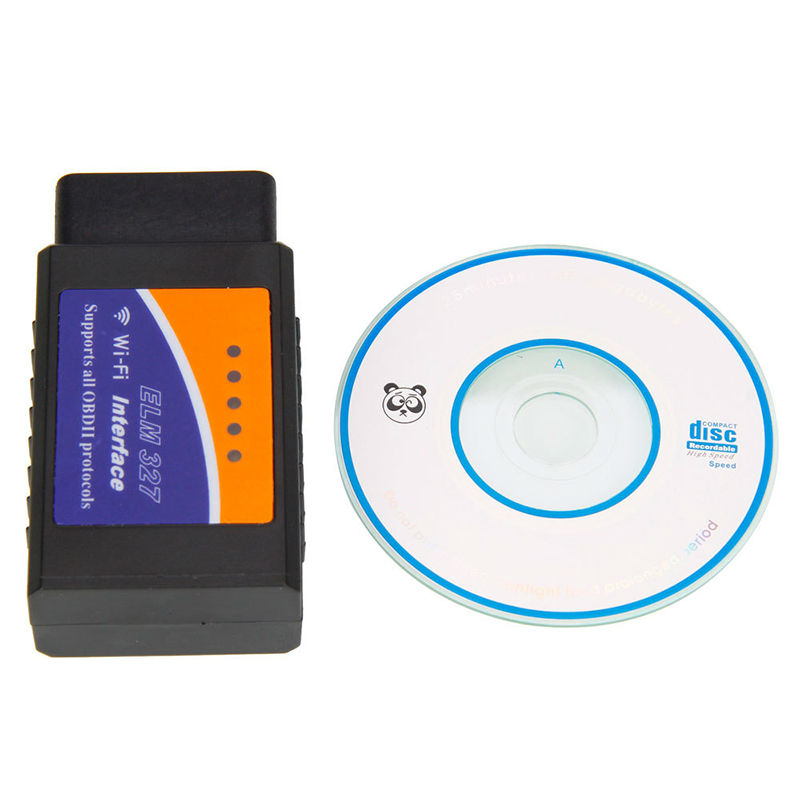 New Arrival ELM327 Code Readers & Scan Tools V1.5 WIFI OBDII Auto Diagnostic Scan Tool Bluetooth Diagnostic Interface Scanner(China (Mainland))
