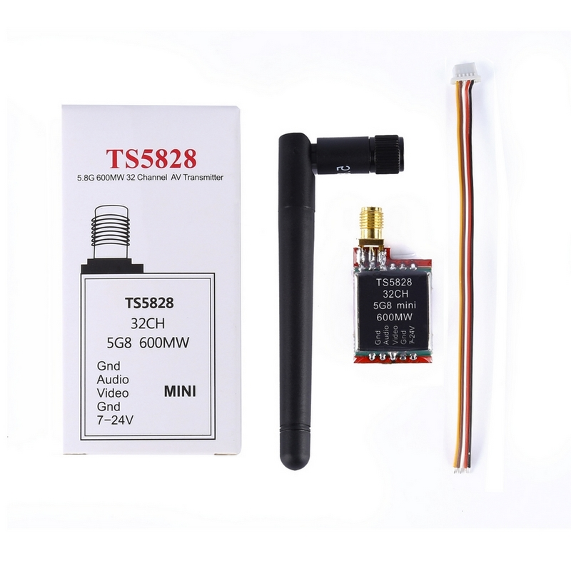 Wireless Video Fpv 5.8Ghz 600mW 32CH Rc Transmitter 2dbm For DJI gopro Rc Drone CCTV Camera Video Camera Toy Parts(China (Mainland))