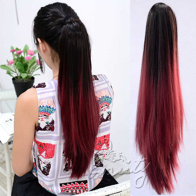 Wholesale 20 straight claw ponytail clip in pony tail hair cheap clip container buy quality clip directly from china clip on glasses case suppliers hot sale 24 60cm curly wavy one piece hair extentions 34 full solutioingenieria Choice Image