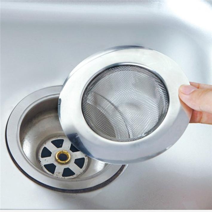Гаджет  Stainless Steel Bathtub Hair Catcher Stopper Shower Drain Hole Filter Trap Metal Sink Strainer JJ259 None Строительство и Недвижимость