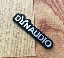 10X DYNAUDIO スピーカーアルミ 3D ステッカートランペットホーンサウンド文字のステッカー車のスタイリングフォルクスワーゲン VW CC ニュービートル(China)