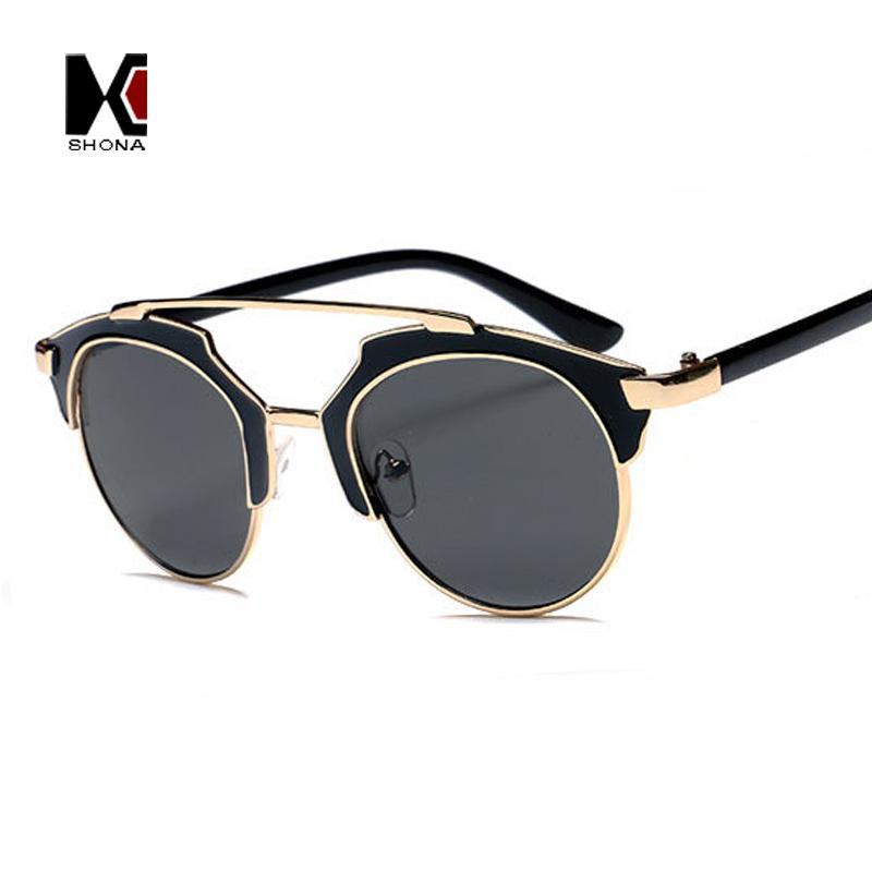 Glasses Frame Personality : Fashion Women Cat Eye Sunglasses Vintage Metal Frame Men ...