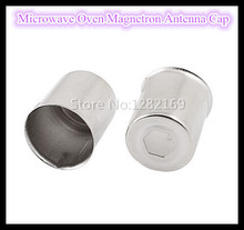(2 pieces/lot) Microwave Oven Magnetron Antenna Cap 14.5MM Hexagon Hole Steel Cap Accessories Free Shipping to RU!