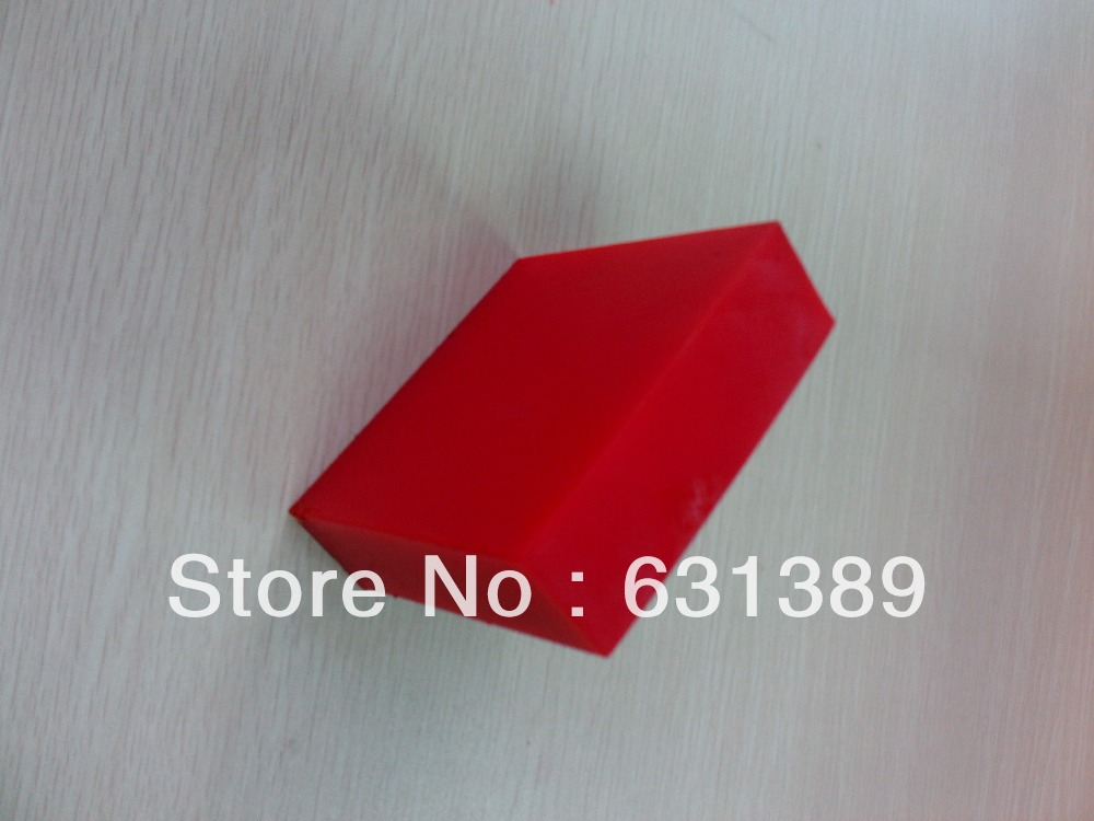 Poster board red