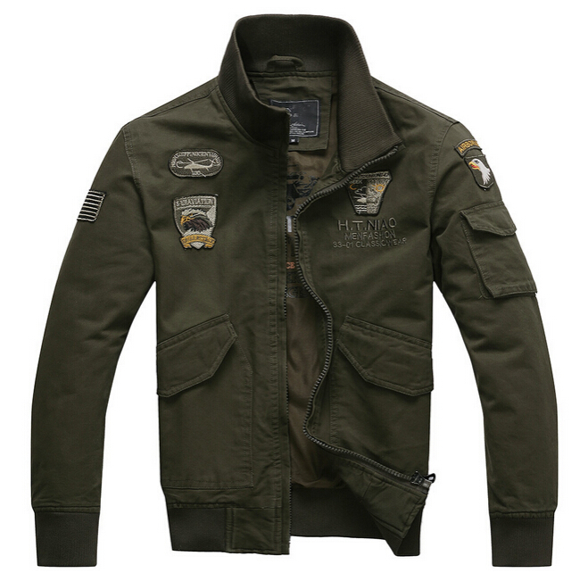 The new uniform leisure men's U.S. air force one special outdoor jackets tooling coat tide male Military uniform(China (Mainland))