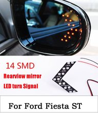 Buy 2016 New Ford Fiesta ST 1pair 14SMD 12V LED Arrow Panel Car Rear View Mirror Indicator Turn Signal Light for $4.75 in AliExpress store