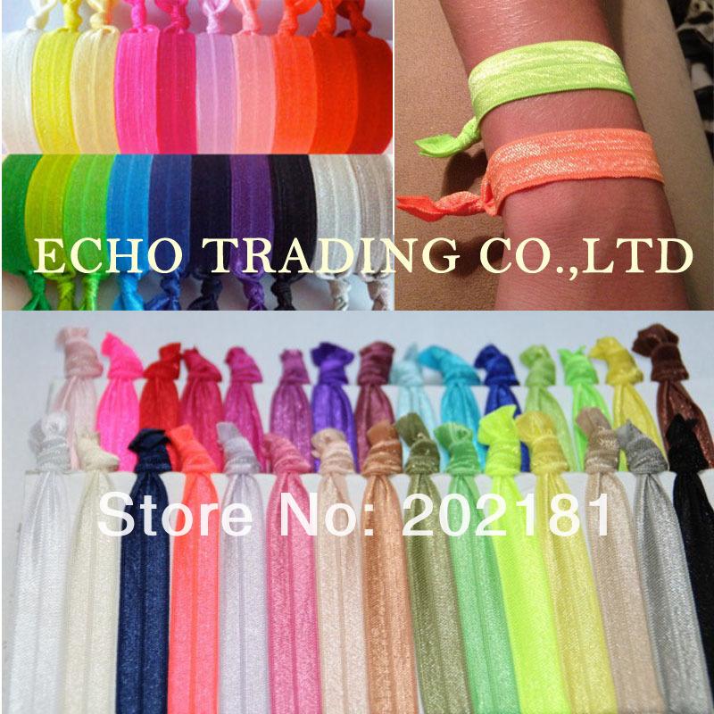 1000pcs free shipping Emi Jay Like Elastic Goody Ouchless Ribbon Elastics Hair Bands Girls Hair Accessorie Yoga Hair Ties(China (Mainland))