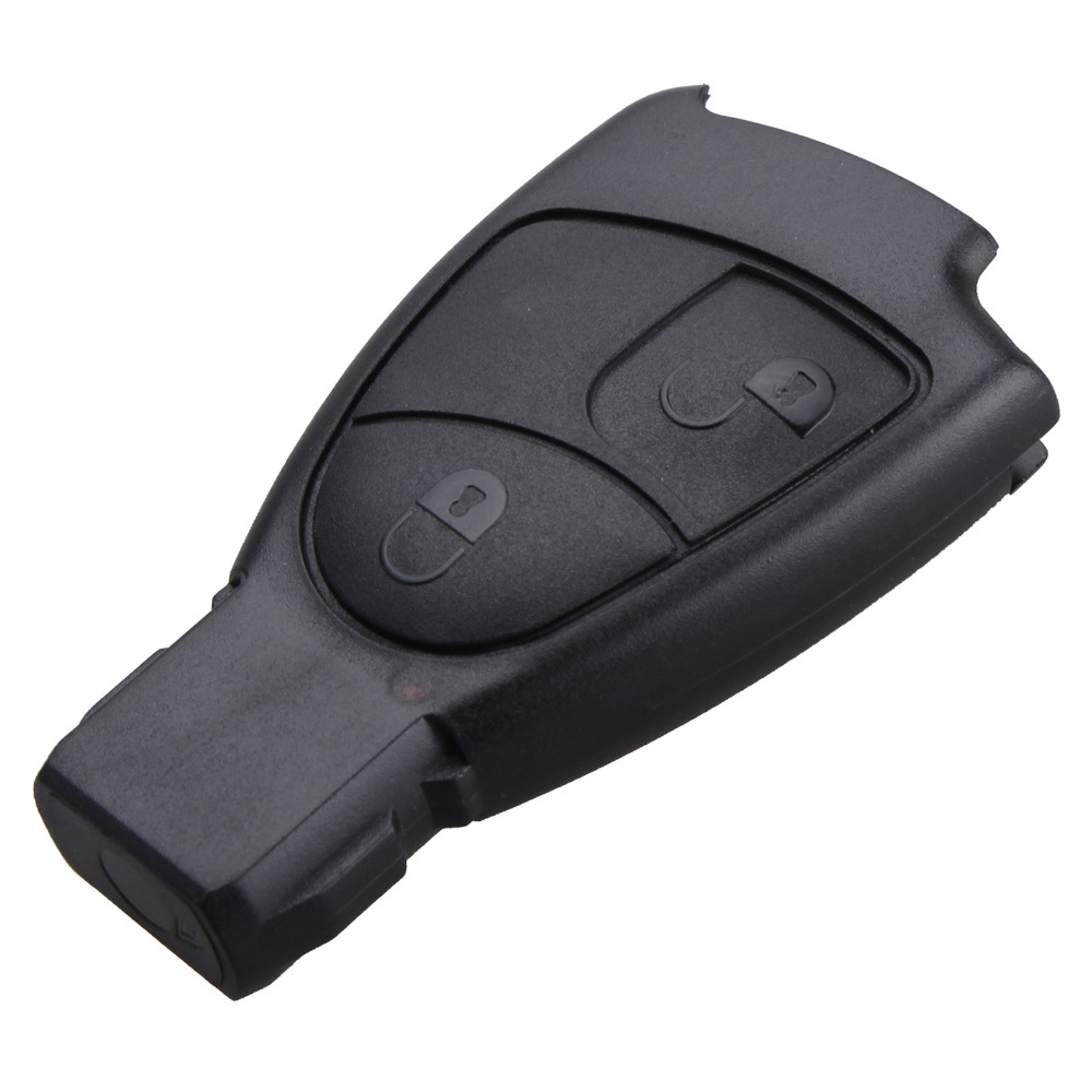 REPLACEMENT Shell Smart Remote Key Case Fob 2 Button For Benz E C R CL GL SL CLK SLK Class With Logo(China (Mainland))
