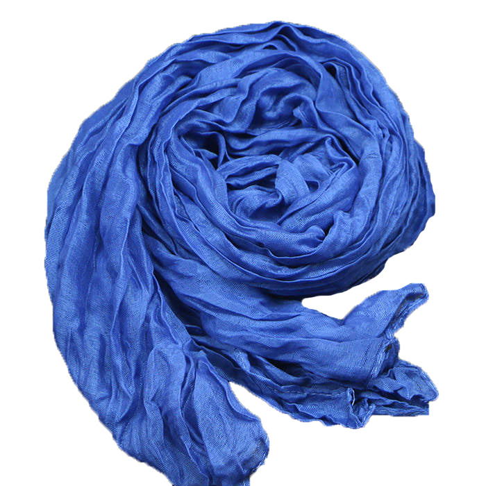 Fashion 2016 New Designer Denim Blue Women Winter Cotton & Linen Blended Solid Echarpes Foulards Fold Candy color Femme Scarves(China (Mainland))
