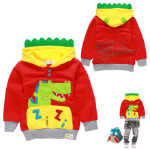 goods sell like hot cakes in the fall and winter of 2015 hoodie sanded wool fabric child nap 100%cotton  children's clothing1071(China (Mainland))