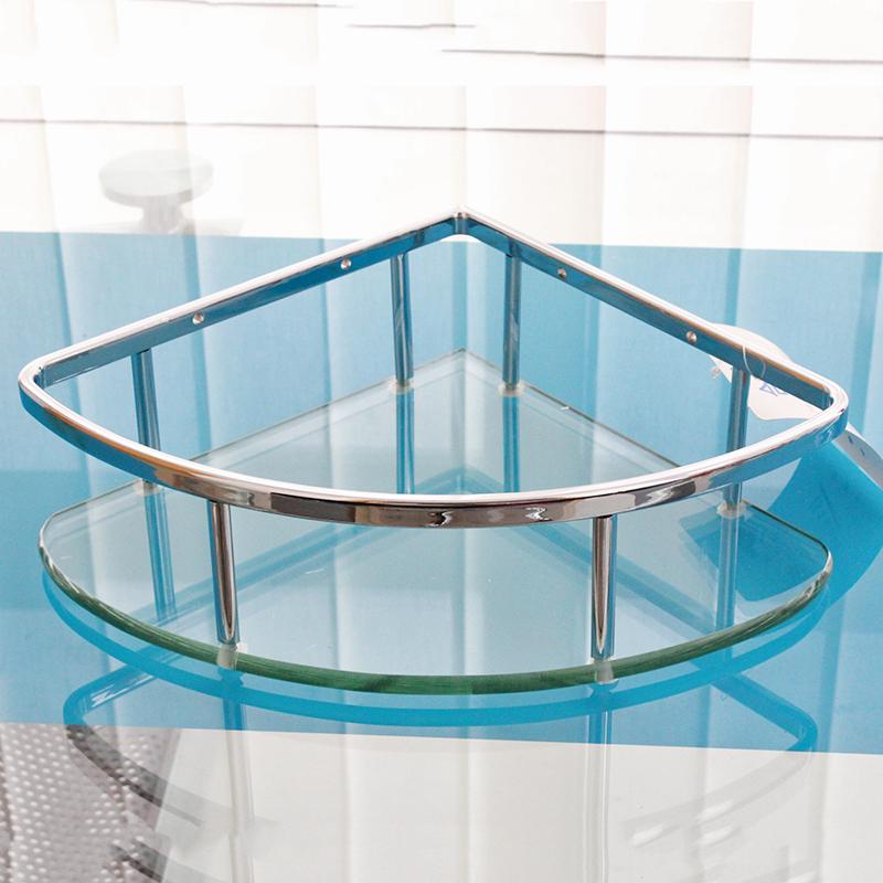 Estantes De Acero Para Baño:Stainless Steel Bathroom Corner Shelves