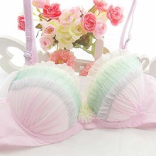 2015 Sexy Bras Women Strapless Push Bra Girls Lace Super Brassiere - China Fashion Factory store