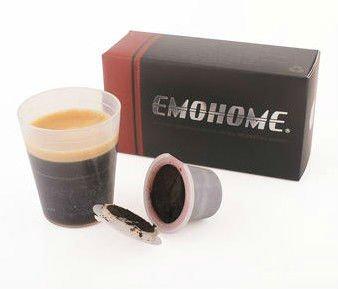 USE 300 times more | EM-03 Espresso refillable Coffee Capsule compatible nespresso 10pcs inside(China (Mainland))