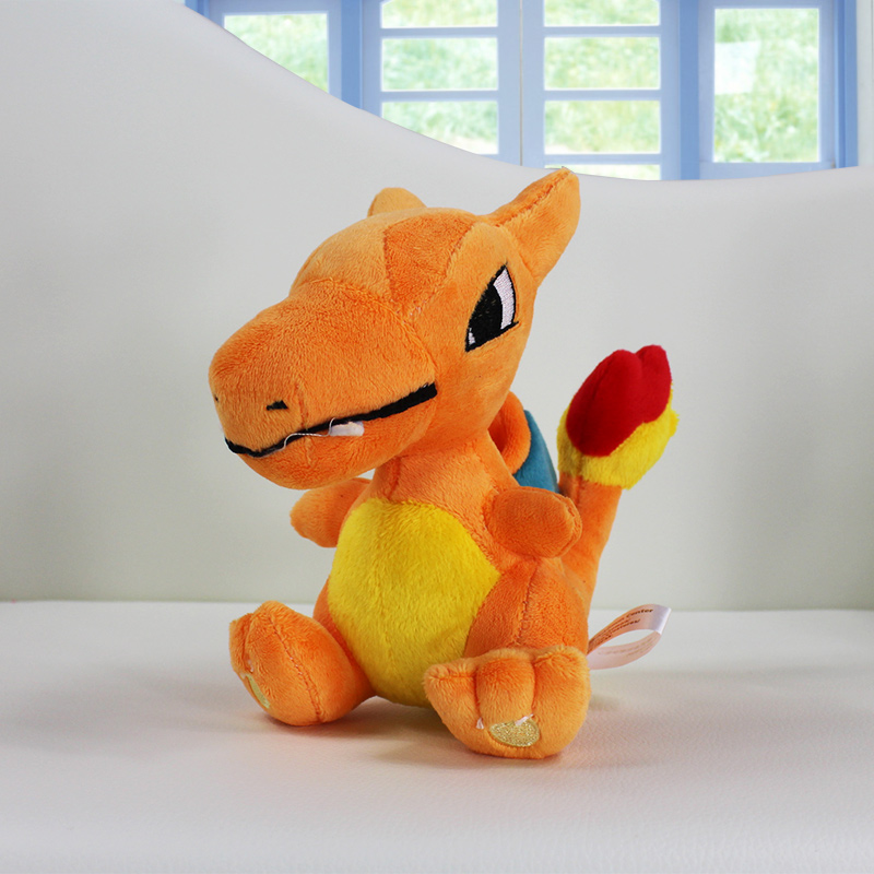 18cm 5.5'' Charizard Plush Stuffed Toy Dragon Dolls(China (Mainland))