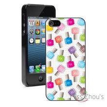 Nail Polish Manicurist Protector back skins mobile cellphone cases for iphone 4/4s 5/5s 5c SE 6/6s plus ipod touch 4/5/6