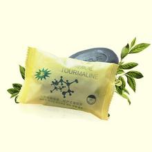Tourmaline bamboo active energy Soap Charcoal active energy soap Concentrated sulfur soap For Face & Body Beauty Healthy Care(China (Mainland))
