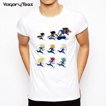 Dragon ball 2019 Футболка мужская dbz футболка vegeta Мужская/женская футболка тенниска goku Мужская Супер сайян dragon ball z Плюс Размер Топы для мальчиков(China)