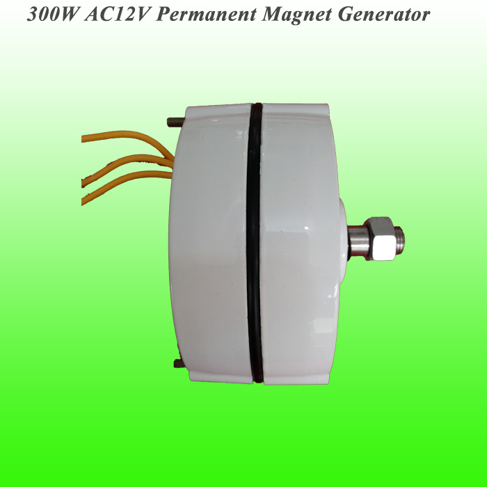 2016 New Arrival Low Rated Rotate Speed AC12V 300W Permanent Magnet Alternator for Wind Turbine Generator Low RPM PMG(China (Mainland))